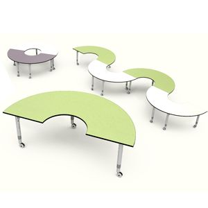 Podz Arc Table