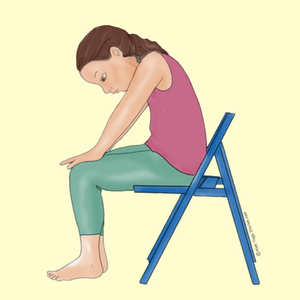 5 yoga animal poses using a chair  Спорт и Йога