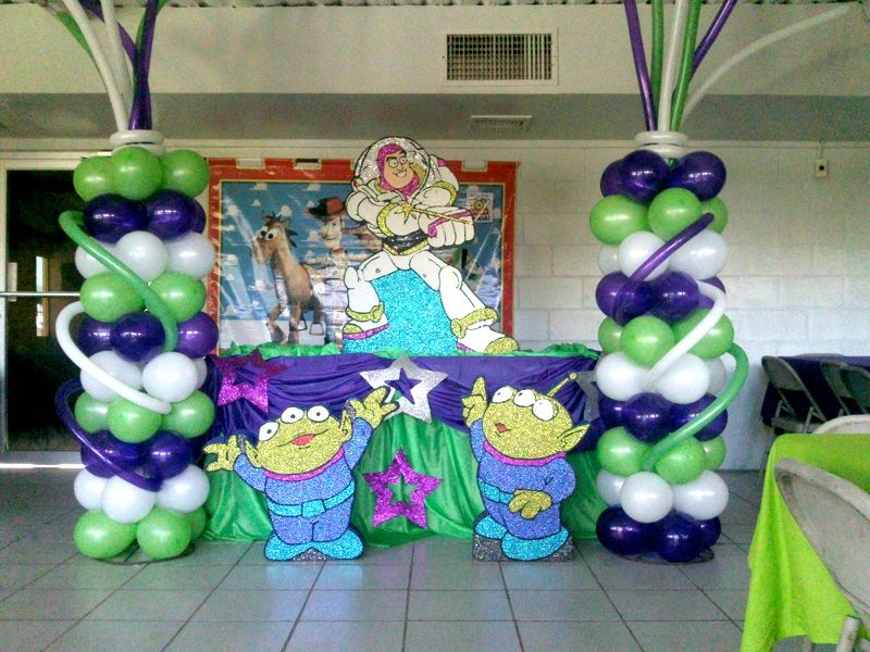 Decoración Buzz Lightyear Para Fiesta Imagui En 2019