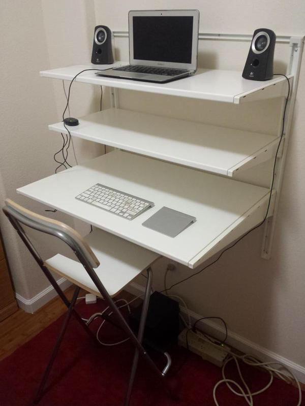 Algot Desk Ikea Algot Algot Desk Hacks