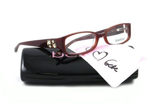 bb9371f0fa BEBE EYEGLASSES BB 5007 BROWN SMOKED TOPAZ AFFLUENT by bebe.  108.91.   BRAND introduced