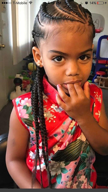 Braids little girl | Medium Hair | Pinterest | Girls, Girl ...