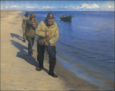 PEDER SEVERIN KROYER Pêcheurs 1885