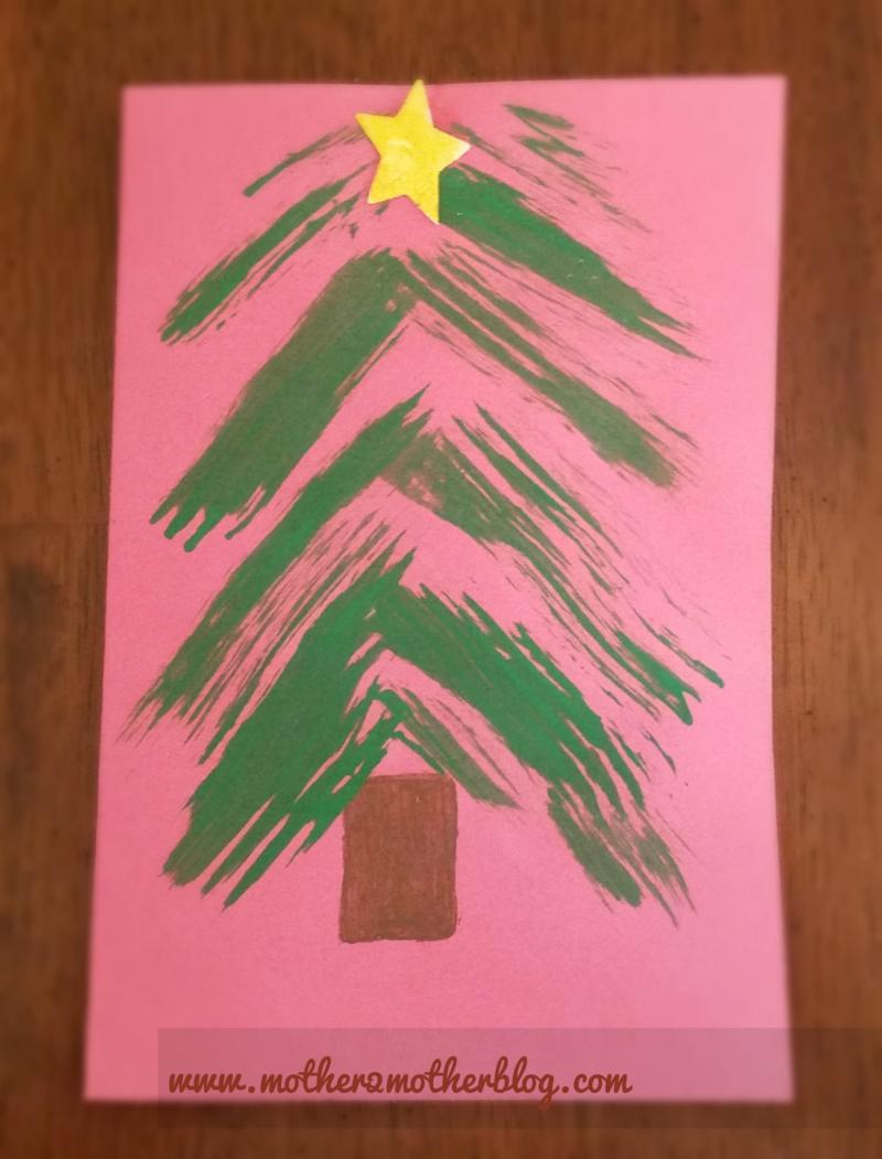 Kindergarten Christmas Craft: Christmas Tree | Kid\'s Christmas ...