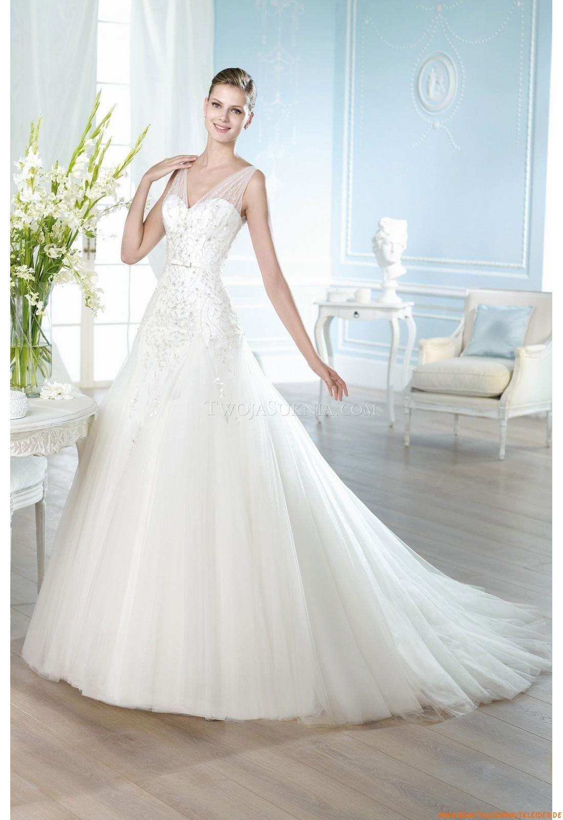 Organza Elegante Brautkleider | Hochzeitskleider | Pinterest | Frankfurt