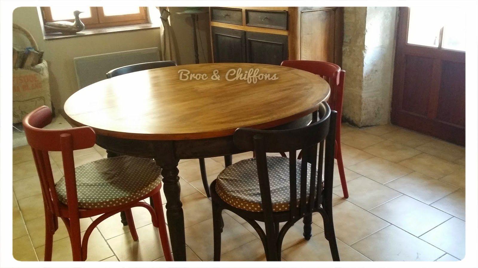 Deco Avec Meuble Merisier table en merisier relookée (avec images) | relooking meuble