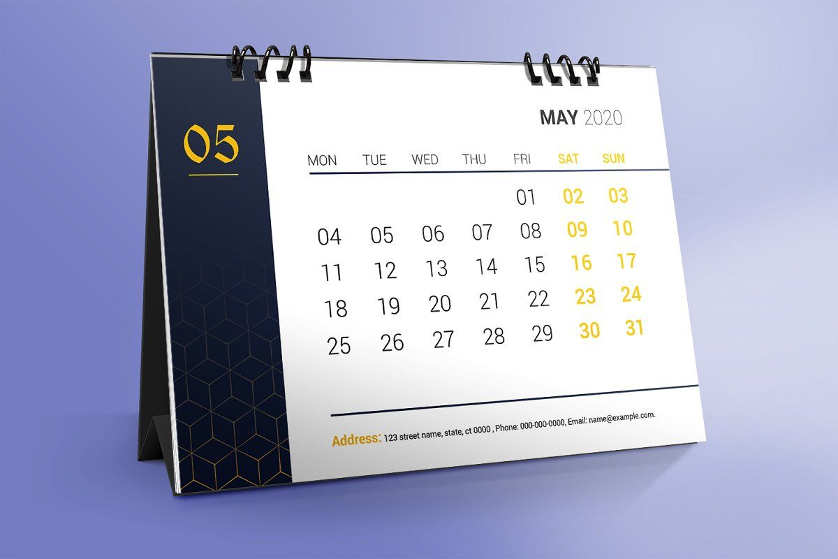 Desk Calendar Design 2020 Desk Calendar Design Calendar Design Desk Calendars