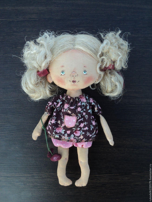 Купить Кукла Вишенка. - вишня, вишневый, вишни, вишенка ...