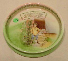 Royal Bayreuth Nursery Rhyme Child's Dish NR