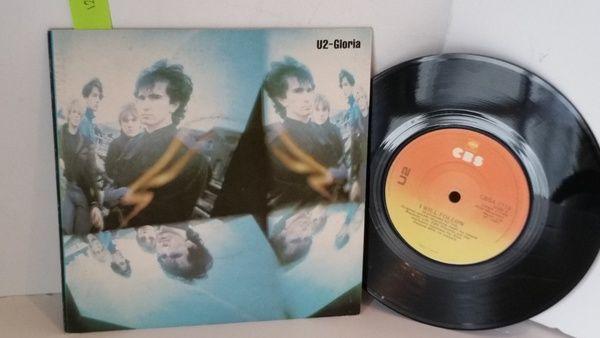 U2 Gloria 7 Inch Single Cbs 1718x With Images Vinyl Record Shop Cbs Single