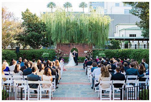Wedding River Oaks Garden Club