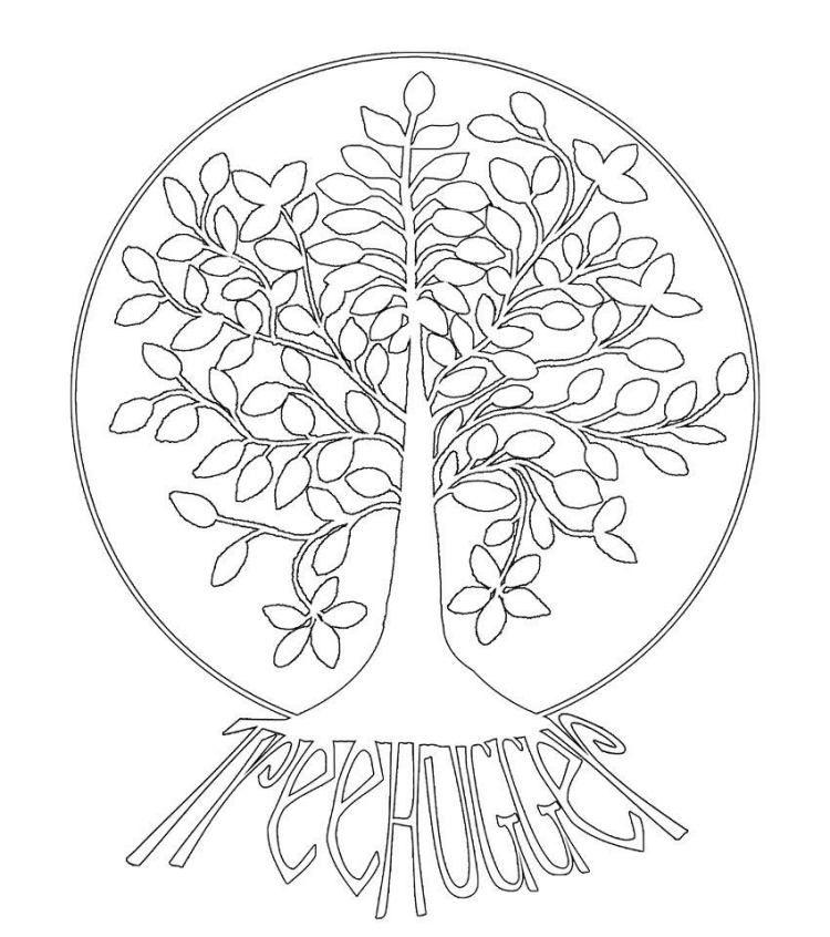 interessante idee  mandala für den herbst mit baum  tree