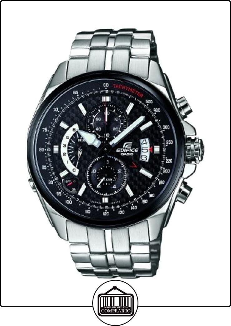 0ccc93274102 CASIO Edifice EFR-501SP-1AVEF - Reloj analógico de cuarzo con correa de  acero inoxidable para hombre (alarma