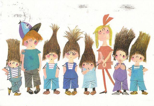 Welp Pluk van de Petteflet Children's Book Characters Postcard (met CL-89