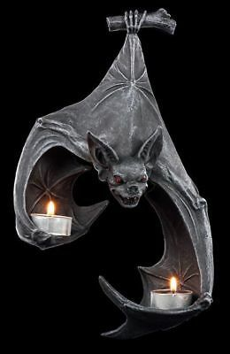 Photo of Bat Wall Tealight Holder – Fantasy Gothic Wall Decoration Candle Holder  | eBay
