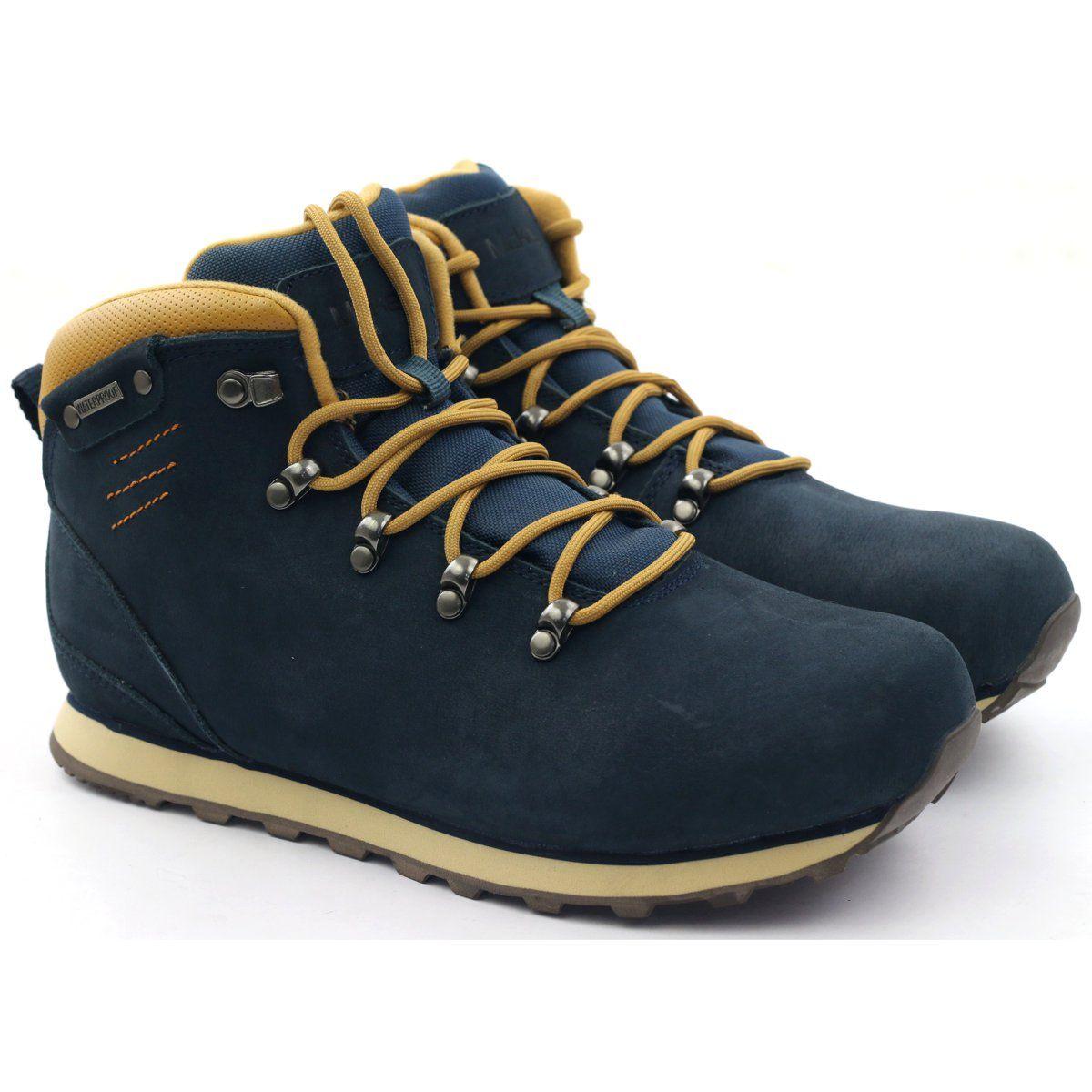 Mckey Trekkingowe Sportowe Membrana 419 Zolte Granatowe Boots Light Boots Hiking Boots
