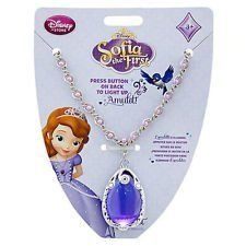 Amazon Com Disney Princess Sofia The First Amulet Necklace Rare Children Kids Game Toys Games Sofia The First Princess Sofia Princess Sofia The First