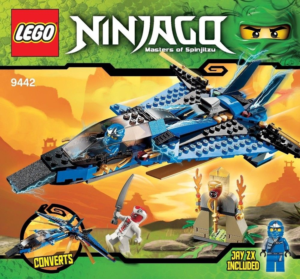 Ninjago Jays Storm Fighter Lego 9442 Lego Instruction