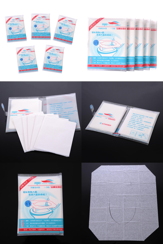 Disposable Toilet Visit To Buy 50pcs Pack Disposable Toilet Seat Cover Mat 100
