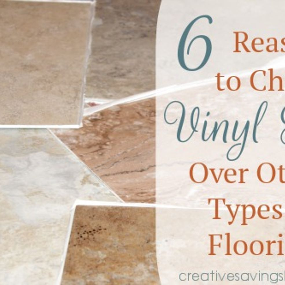 6 Reasons To Choose Vinyl Tile Over Other Types Of
