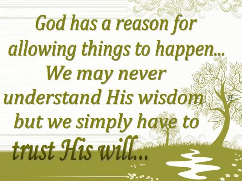 Only God Knows Why Things Happen Inspirational Citazioni Forti