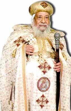 The memorial  of the triple blessed Ava Gregory bishop of Coptic research تذكار مثلث الرحمات الانبا إغريغوريوس أسقف البحث العلمي