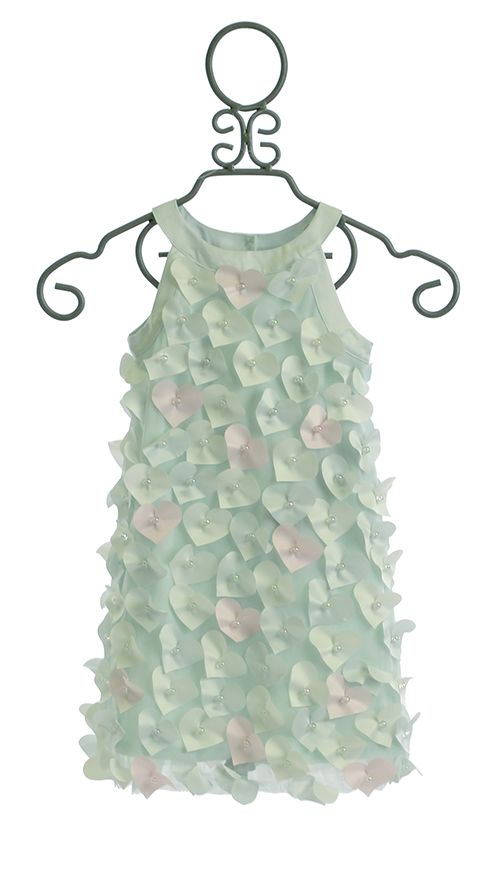 Biscotti Heart Dress For Girls Cloud Nine Biscotti
