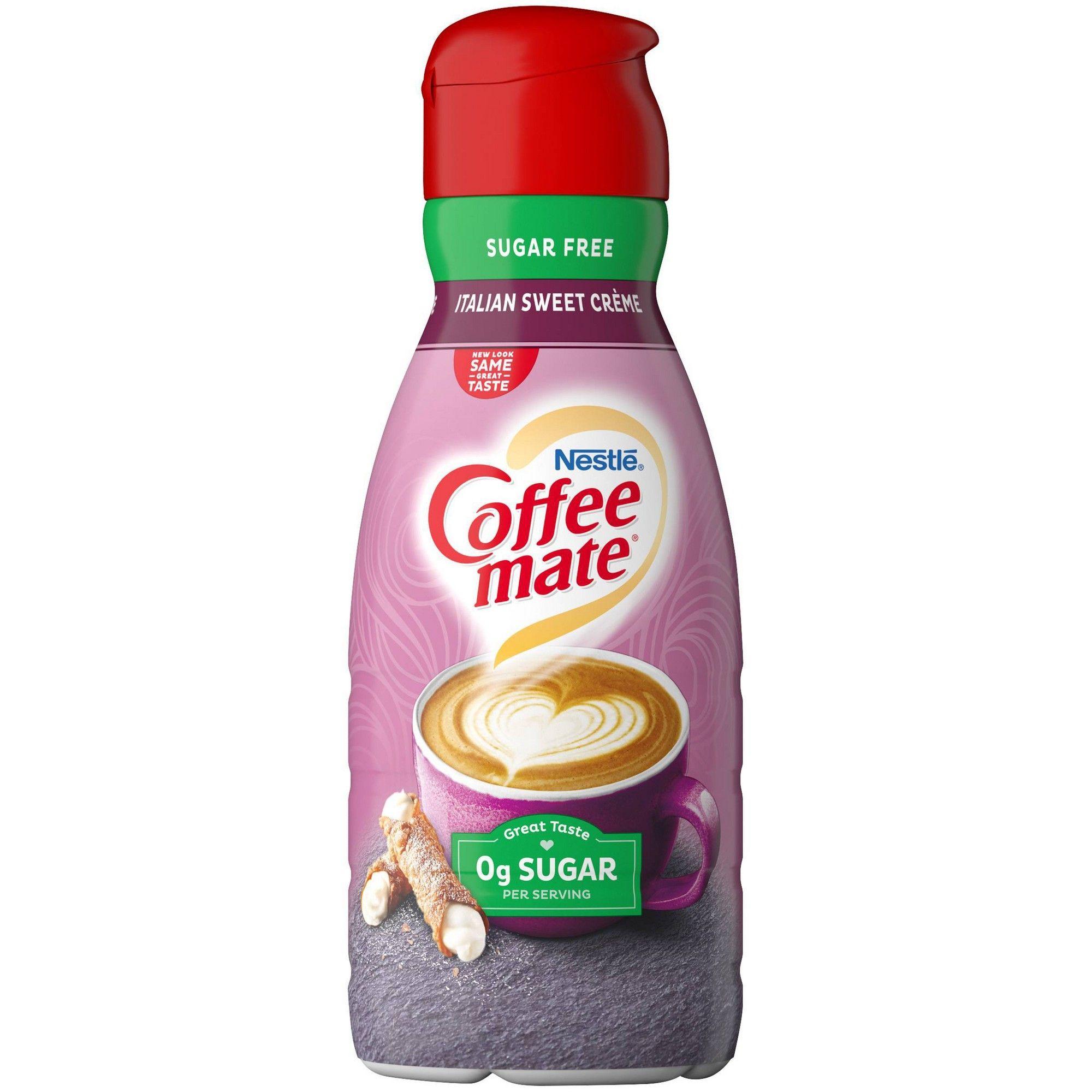 coffee mate italian sweet cream discontinued