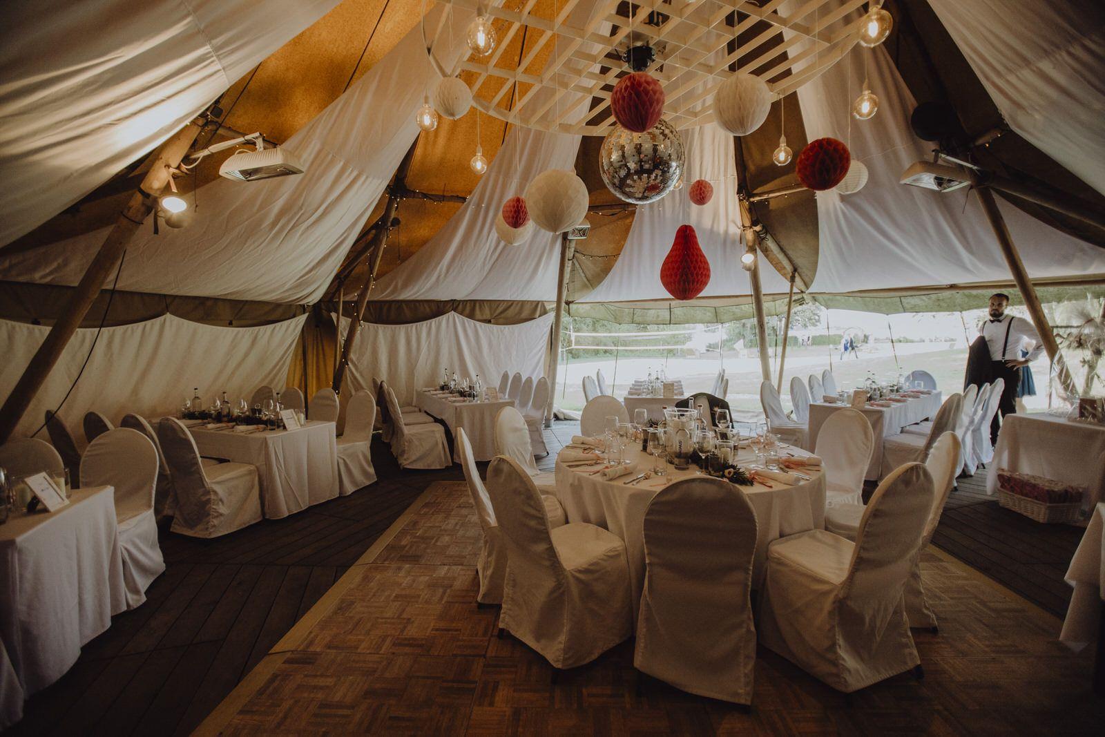 Feiert Bei Uns Im Tipi Tipi Hochzeitslocation Festsaal