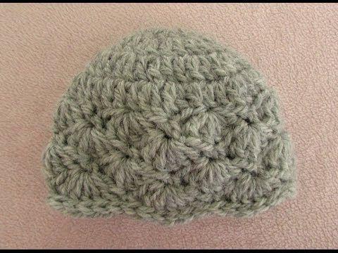 Very easy pretty crochet baby hat shell stitch baby hat tutorial very easy pretty crochet baby hat shell stitch baby hat tutorial http dt1010fo