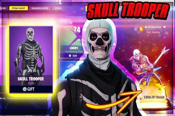 31x Fortnite Mega Leak Accounts Skull Trooper 20 Skins Hq Latest