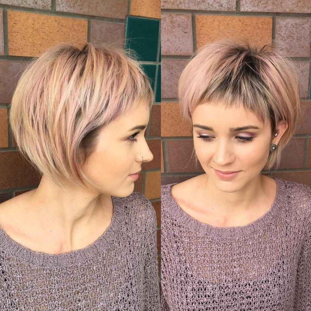 short shag hairstyles that you simply canut miss layered bobs