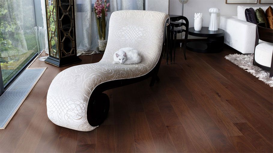 Warm Dark Wood Flooring Try Out Out Different Flooring With The