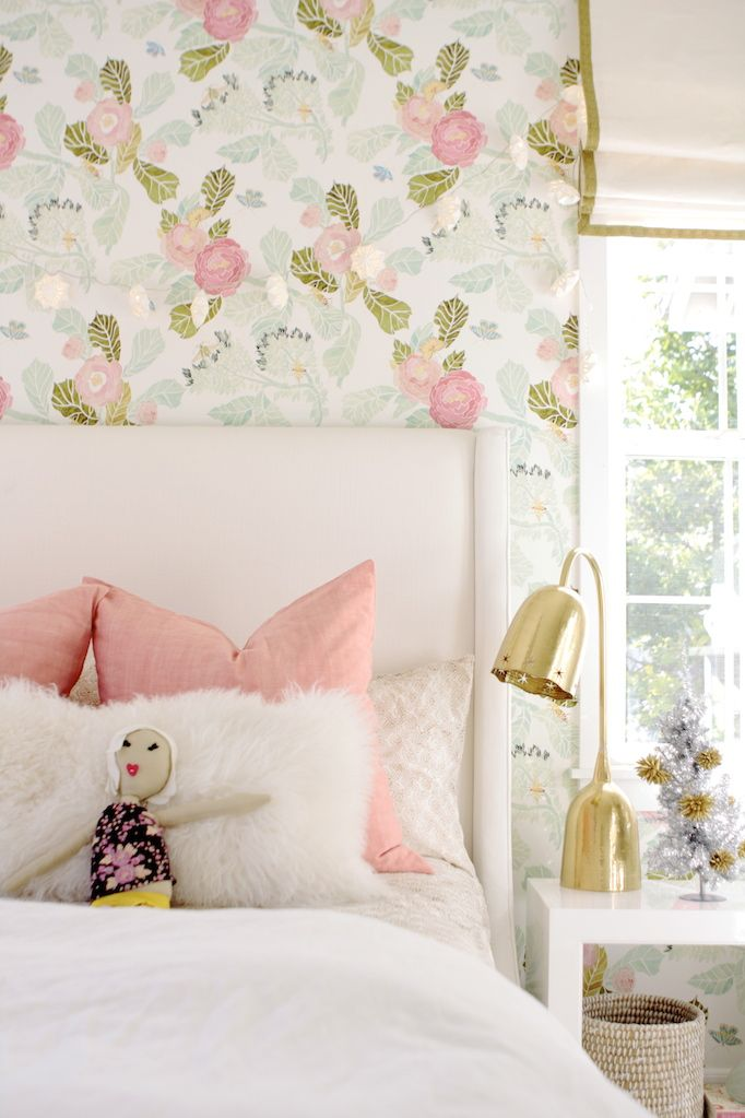Bon Holiday Decorating For Kids Owens And Davis · Girls Bedroom WallpaperPretty  ...