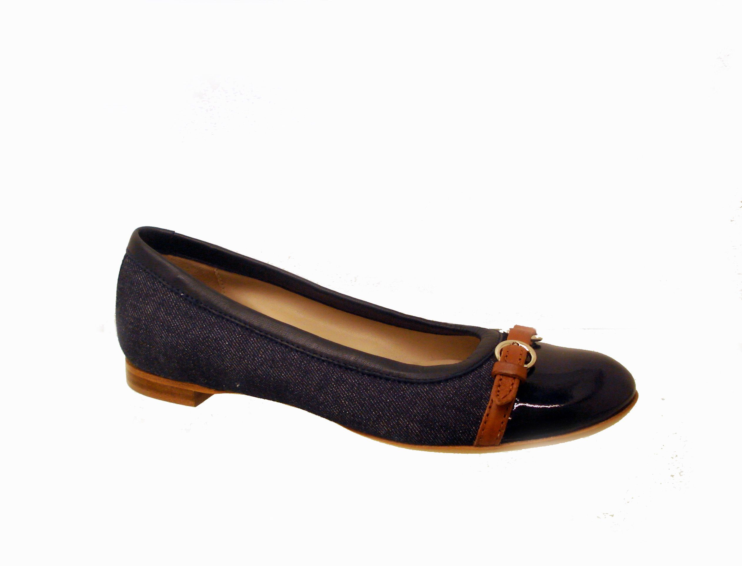 The most comfortable flats ever--AGL in denim