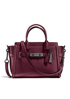 8b8f78a73b766 COACH Swagger 27 Bag in Glovetanned Leather