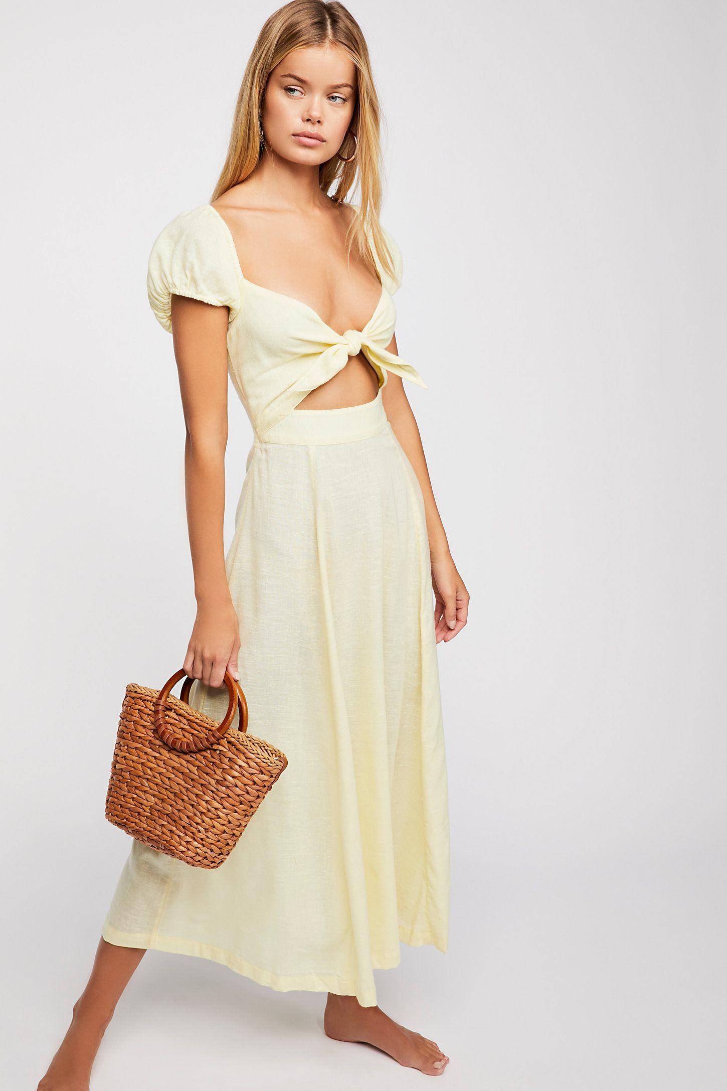 b14763ce6752 The Getaway Midi Dress | Fashion | Dresses, Free people, Free people ...