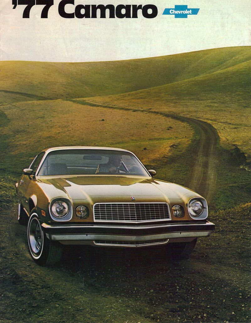 Vintage Camaro Advertising Oozes Performance Amp Confidence
