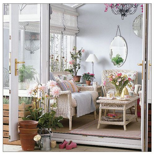 Sunroom Dining Room Creative: A Romantic Garden Shed For A Country Outdoor Living