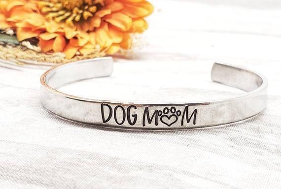 Dog mom-dog mom bracelet-gift for dog lovers-dog bracelet-I love my dog-bracelet for dog mom-custom dog gift