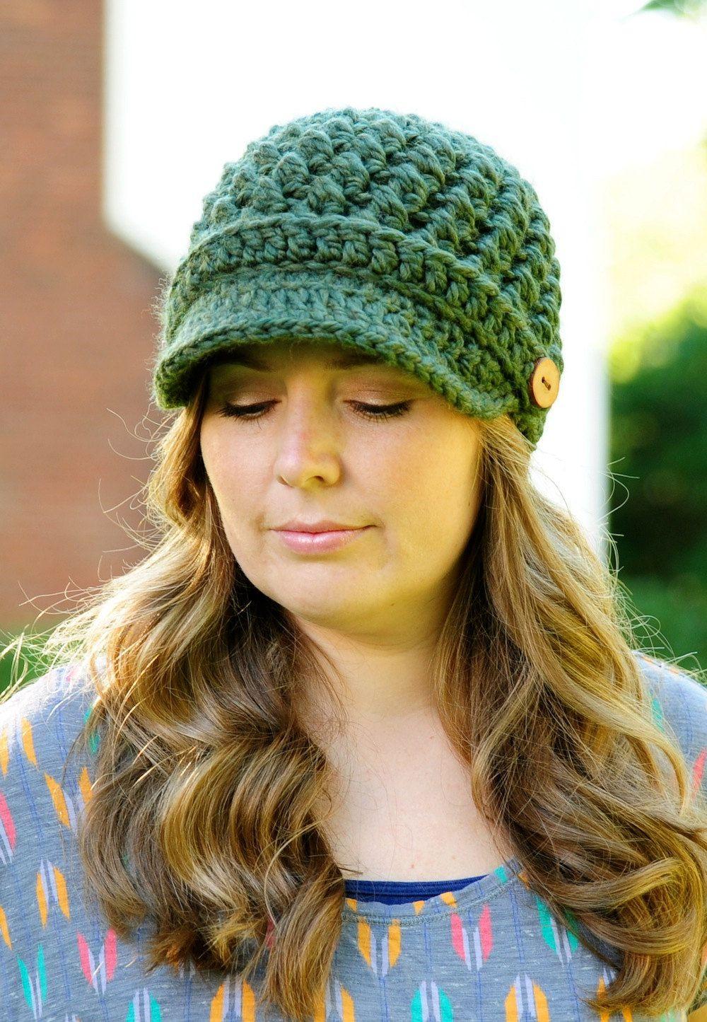 Womens Cross Stitch Hat Pattern Crochet Hat by SimplyMadeByErin ...