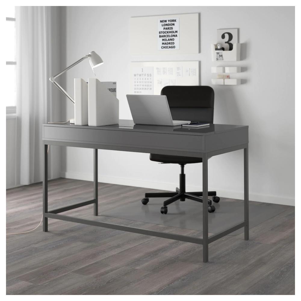 Alex Desk Gray 51 5 8x23 5 8 Ikea Alex Desk Grey Desk Ikea Alex Desk