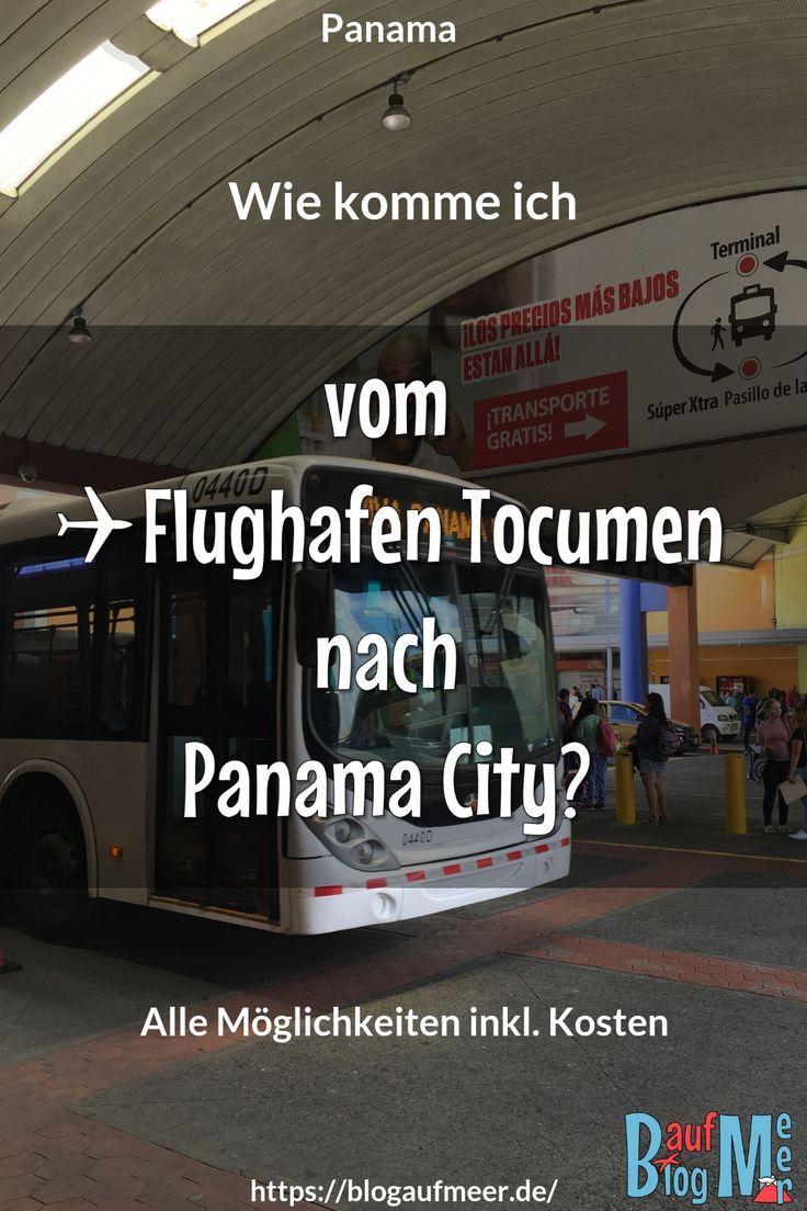 Vom Flughafen Tocumen nach Panama City - Blog auf Meer