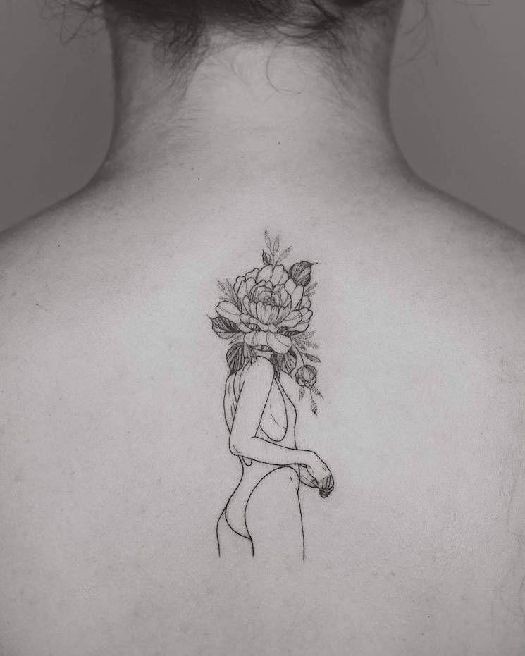 22 Black Fine Line Tattoos By Rising Star Phoebe Hunter Fine Line Tattoos Line Tattoos Tattoos