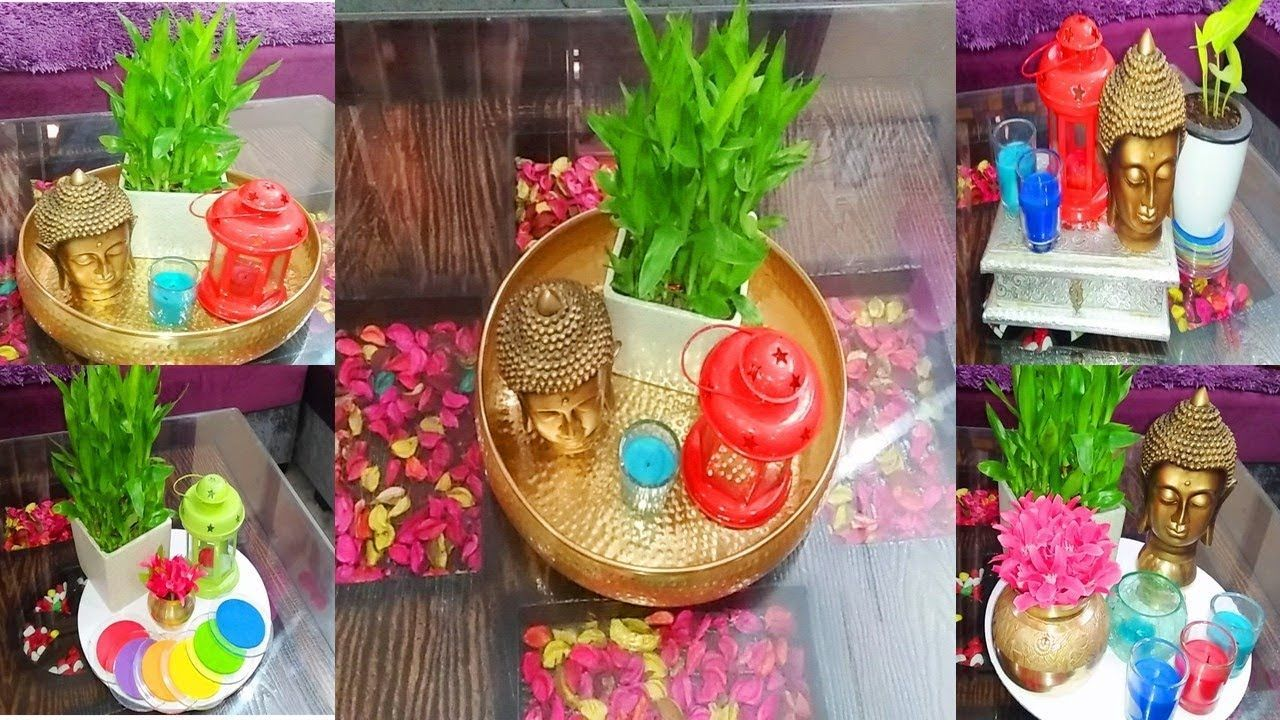 How To Decorate Center Table In 2020 Diy Living Room Decor Diwali Decorations Indian Living Rooms