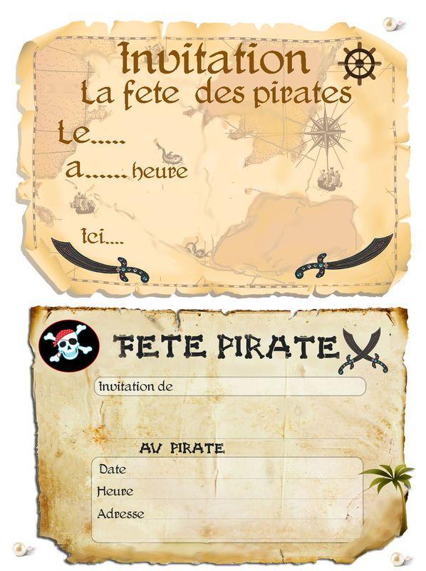 theme pirates pinterest anniversaire pirate. Black Bedroom Furniture Sets. Home Design Ideas