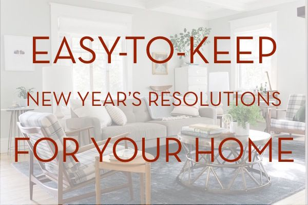 Easy To Keep New Year S Resolutions For Your Home New Years Resolution How To Make Magnets Newyear