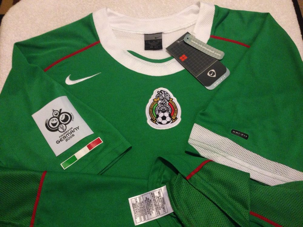 Nike Jersey National Team Mexico Fifa World Cup Germany 2006 Size Xl America Usa Ebay