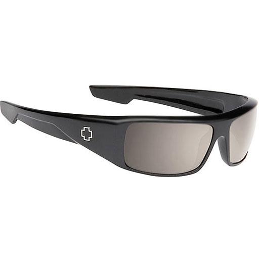 49d4a7bfeb900 Spy Happy Lens Logan Sunglasses (Matte Black Polarized Bronze Lens)  139.95