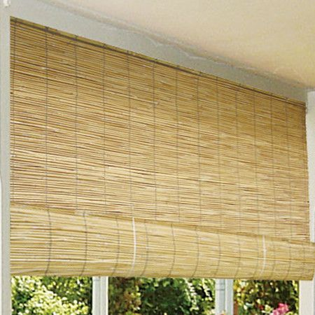 Bamboo Roll Up Blind Includes Mounting